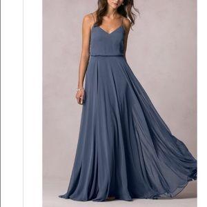 Jenny Yoo Inesse Evening Blue Dress